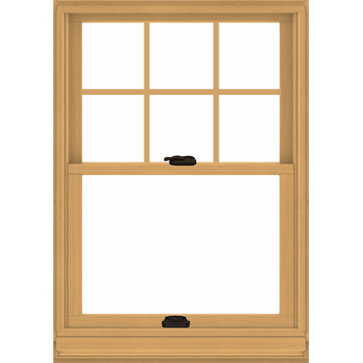 Tilt-Wash Double-Hung Window